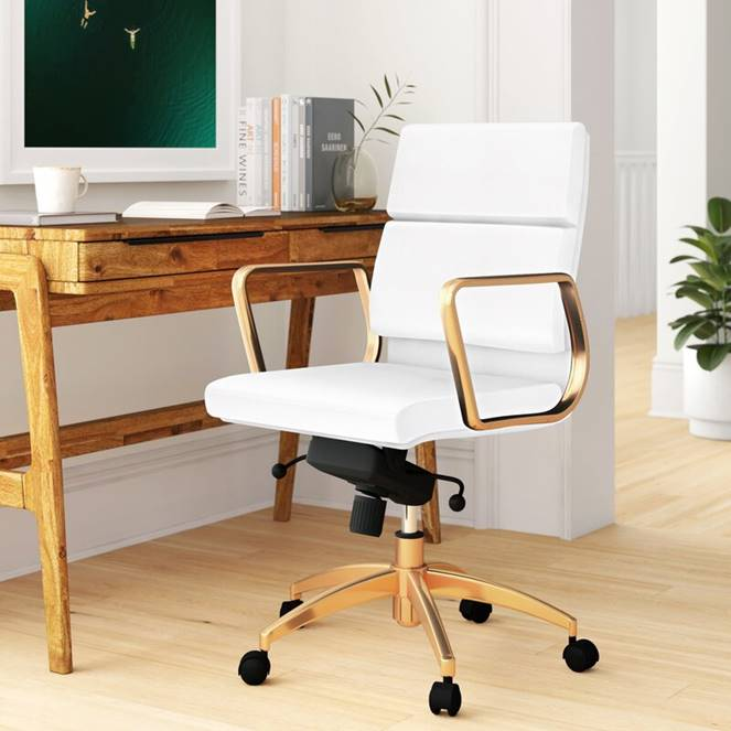 white-and-gold-office-chair-sophisticated-glam-furniture-for-home-workspace-attractive-home-office-furniture