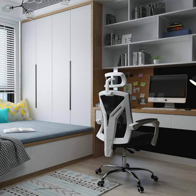 white-ergonomic-office-chair-for-work-from-home-streaming-gaming-adjustable-headrest-mesh-back-reclining-computer-chair