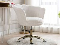 white-swivel-office-chair-upholstered-scalloped-back-art-deco-home-office-furniture-hollywood-interior-decor-ideas